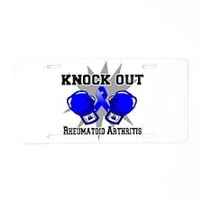 Knock Rheumatoid Arthritis Aluminum License Plate