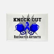 Knock Rheumatoid Arthritis Rectangle Magnet