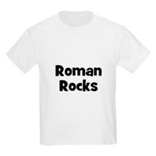 Roman Rocks Kids T-Shirt