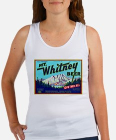 California Beer Label 7 Women's Tank Top