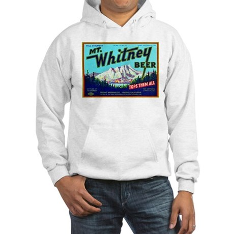California Beer Label 7 Hooded Sweatshirt