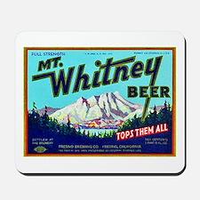 California Beer Label 7 Mousepad