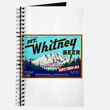 California Beer Label 7 Journal
