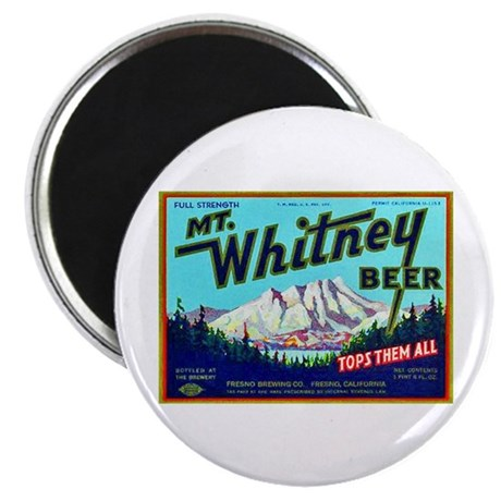"California Beer Label 7 2.25"" Magnet (10 pack)"