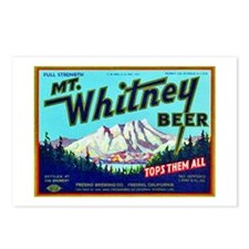 California Beer Label 7 Postcards (Package of 8)