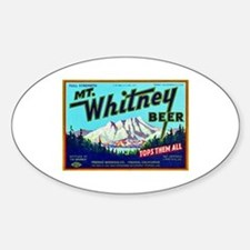 California Beer Label 7 Decal