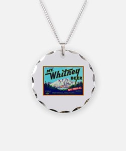 California Beer Label 7 Necklace