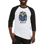 Flowers Coat of Arms Baseball Jersey