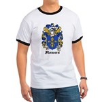 Flowers Coat of Arms Ringer T
