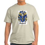 Flowers Coat of Arms Ash Grey T-Shirt