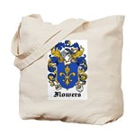 Flowers Coat of Arms Tote Bag
