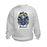 Flowers Coat of Arms Kids Sweatshirt
