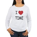 I heart time Women's Long Sleeve T-Shirt