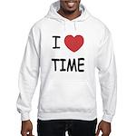 I heart time Hooded Sweatshirt