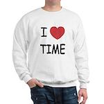 I heart time Sweatshirt