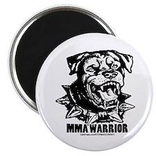 MMA Warrior Magnet