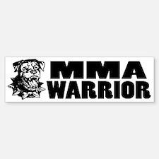 MMA Warrior Bumper Bumper Bumper Sticker