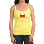 Agnes The Butterfly Jr. Spaghetti Tank