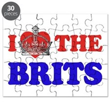 I Love The Brits Puzzle