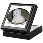 I Love My Maltese Keepsake Box