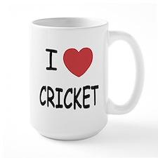 I heart cricket Mug