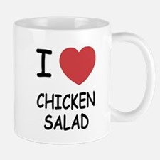 I heart chicken salad Mug