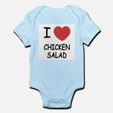 I heart chicken salad Infant Bodysuit