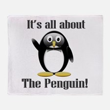 It's all about the Penguin Throw Blanket