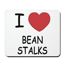 I heart beanstalks Mousepad