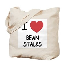 I heart beanstalks Tote Bag