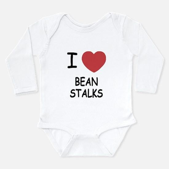 I heart beanstalks Long Sleeve Infant Bodysuit