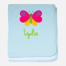 Lydia The Butterfly baby blanket