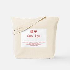 Sun Tzu Advice Tote Bag