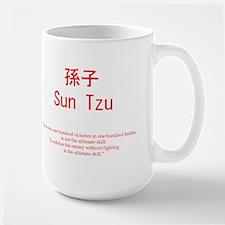 Sun Tzu Advice Large Mug