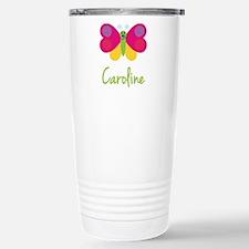 Caroline The Butterfly Stainless Steel Travel Mug