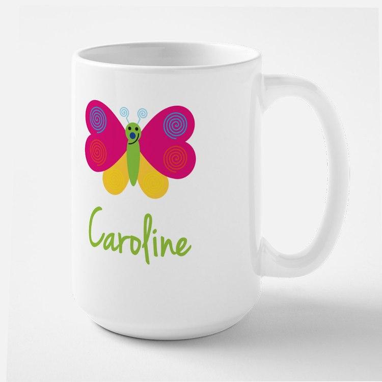 Caroline The Butterfly Large Mug