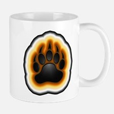 Bear Pride Glowing Paw Mug