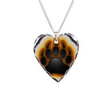 Bear Pride Glowing Paw Necklace