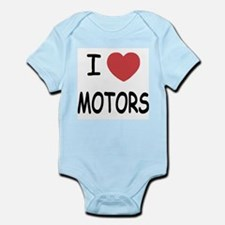 I heart motors Infant Bodysuit