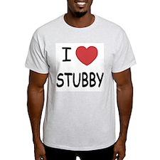 I heart stubby T-Shirt