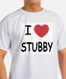 I heart stubby T-Shirt