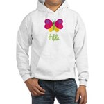 Hilda The Butterfly Hooded Sweatshirt