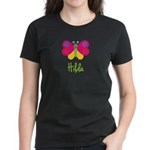 Hilda The Butterfly Women's Dark T-Shirt