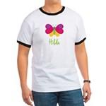 Hilda The Butterfly Ringer T