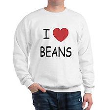 I heart beans Sweatshirt