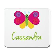 Cassandra The Butterfly Mousepad