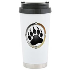 Bear Paw In Pride Circle Travel Mug