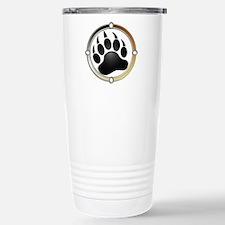 Bear Paw In Pride Circle Travel Mug