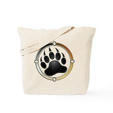 Bear Paw In Pride Circle Tote Bag