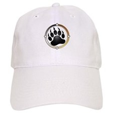Bear Paw In Pride Circle Baseball Cap